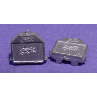 O SCALE 1/48 FORD MODEL T RADIATORS