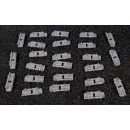 G SCALE OR 1:20.3 WATER TANK BAND CLAMPS SET