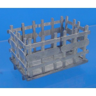 O SCALE STAKE TRUCK BED ONLY