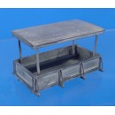 O SCALE CANOPY TRUCK BED ONLY