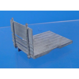 O SCALE FLAT BED TRUCK BED ONLY