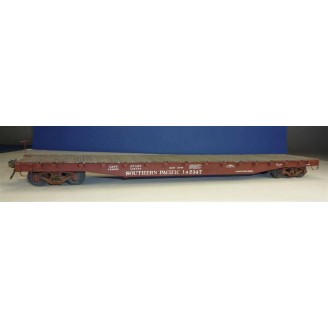 "S SCALE SOUTHERN PACIFIC F-70-7 53'6"" FLAT CAR KIT"