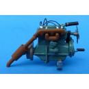 O SCALE 1/48 HERCULES OR BUDA 4 CYLINDER ENGINE KIT