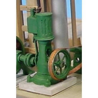 O SCALE SMALL SHOP VERTICAL STEAM ENGINE